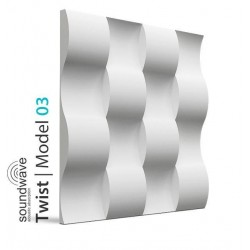 Twist 3D Wall Panels