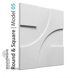 Round & Square 3D Wall Panels