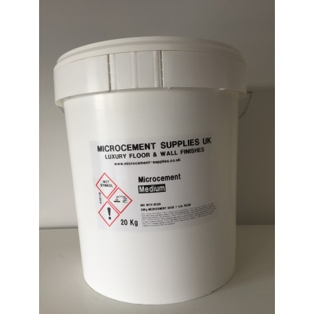 Microcement Medium + Resin