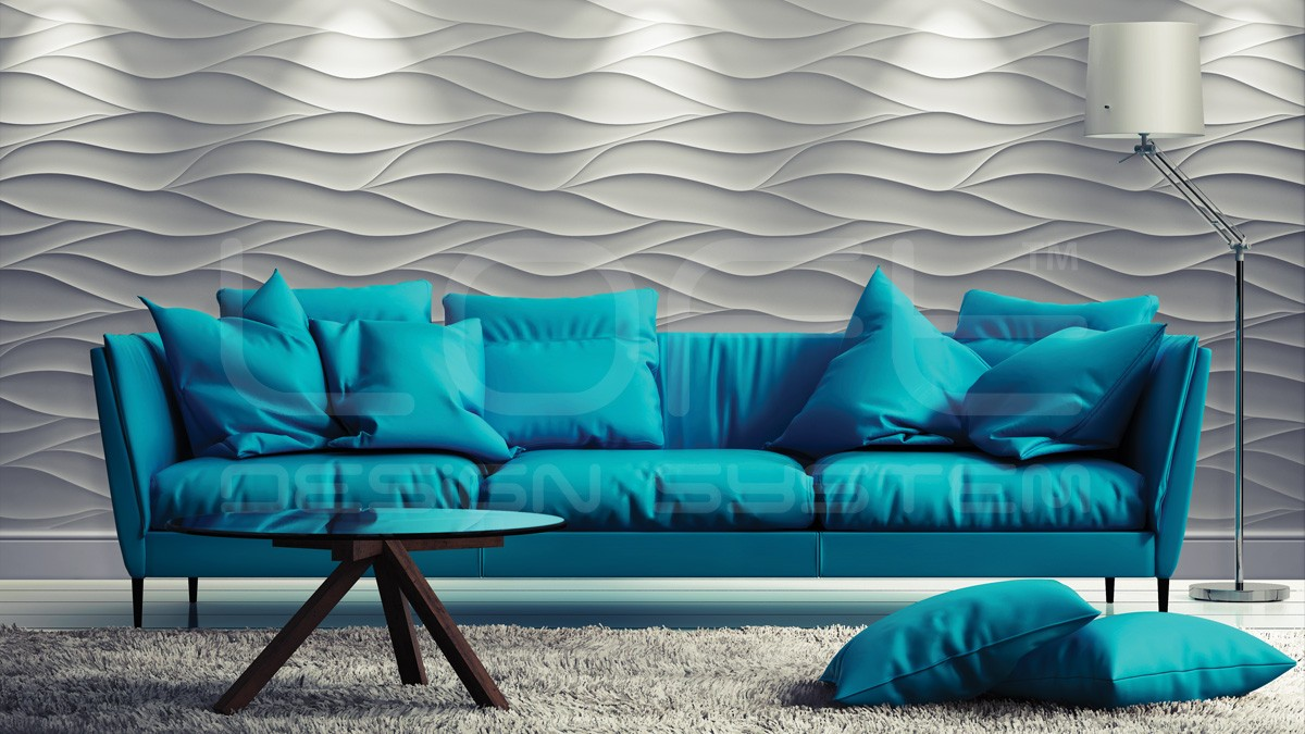 Sand Storm 3D Wall Panels