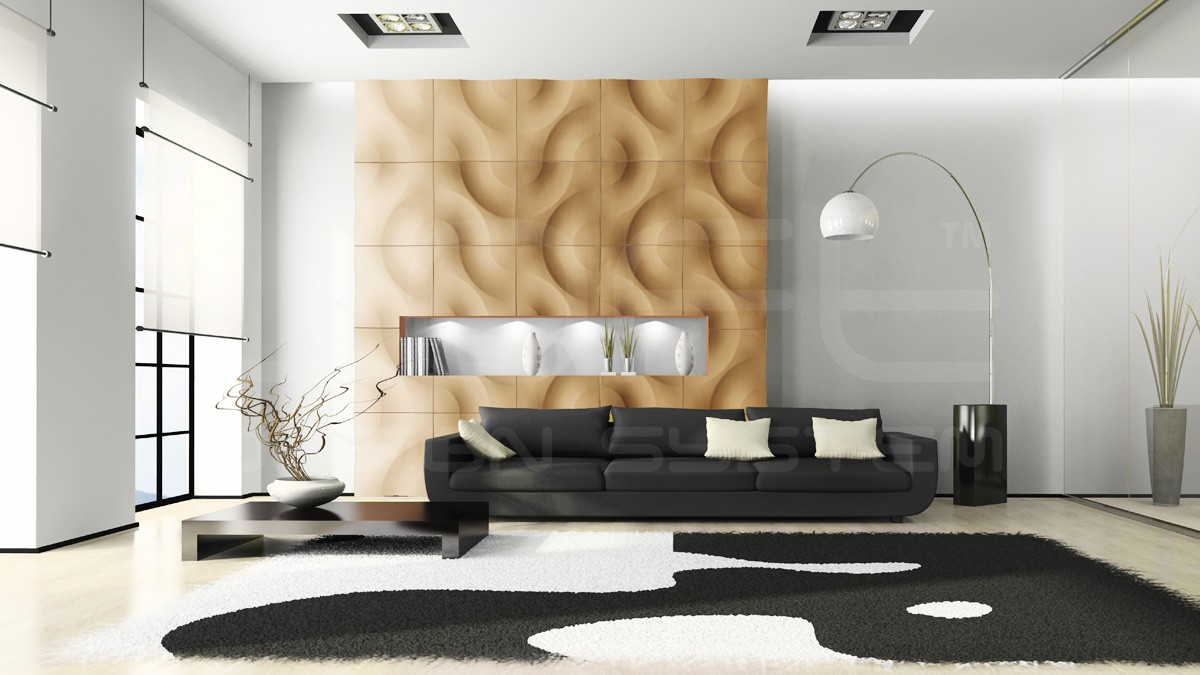 Curves 3D Wall Panels